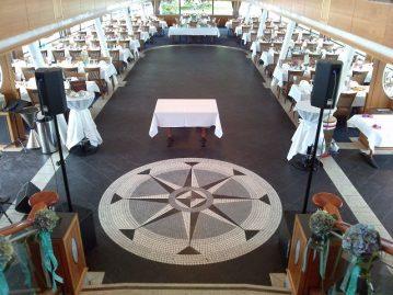 Tischdekoration-Schiff-Starnberger-See