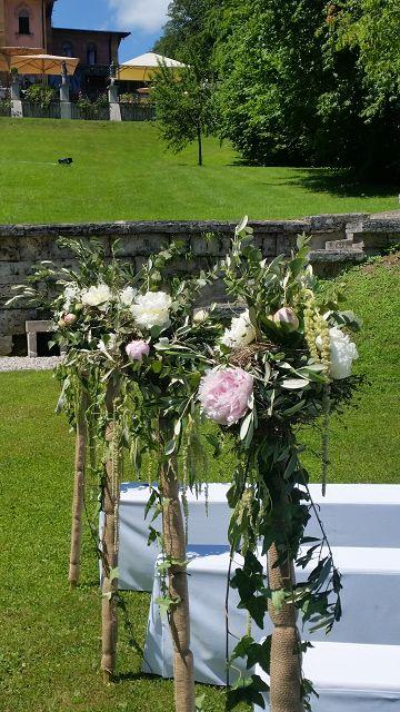 Hochzeit Am Starnberger See Mit Hochzeitsfloristik Kirsten Brugger