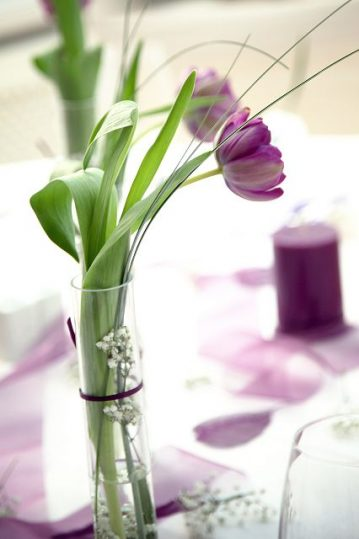 Tischdekoration-Starnberger-See-lila